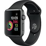 Hodinky Apple Watch Series 3 42mm Space Grey Aluminium - Black Sport pásek 2017